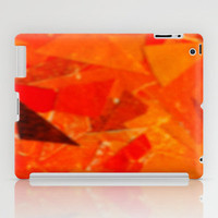 Orange Collage iPad Case by Rhiannon