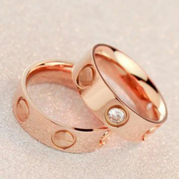 cute couple rings women ring cartier rhinestone ring on simplicity-1