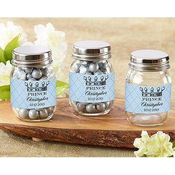 Personalized Mini Mason Jar - Little Prince (Set of 12)