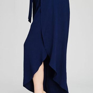 Plus Size Side Split Pants