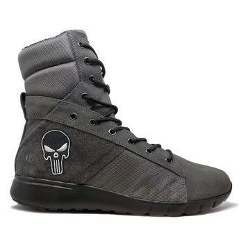 Grey Tactical Trainer 2.0 High Top Sneakers