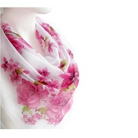 BUY ANY 3 GET 1 OF THEM FREE, large cotton scarf, pale pink scarf, unique scarves, large square scarf, valentines day gift, soft scarf shawl, cozy scarves, gift for mom,