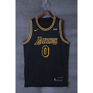 6faec7576835 Los Angeles Lakers  0 Kyle Kuzma Nike City Edition NBA Jerseys
