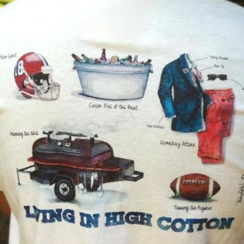 Living in High Cotton: Tailgate Edition Tee by High Cotton