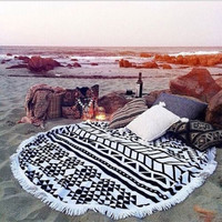 Boho Round Beach Towel