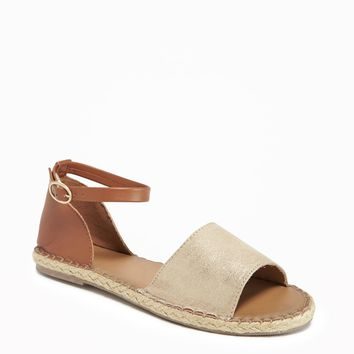 Ankle-Strap Espadrilles for Women | Old Navy
