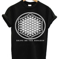 Bring me the horizon logo t-shirt band tshirt sizes S M L XL XXL