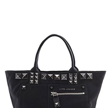 Canvas Chipped Studs Tote Bag - Marc Jacobs