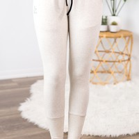 Ampersand Ave Joggers - Oatmeal