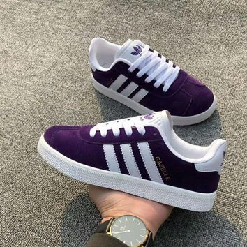 Adidas Women Sport Casual Multicolor Stripe Plate Shoes Fashion Sneakers