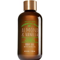 Bath & Body Works ALMOND & VANILLA Body Oil with Olive Oil