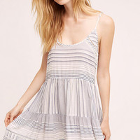 Tiered Stripe Chemise