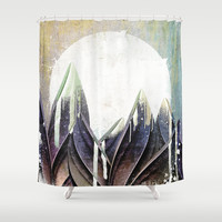 My magical beans garden Shower Curtain by happymelvin