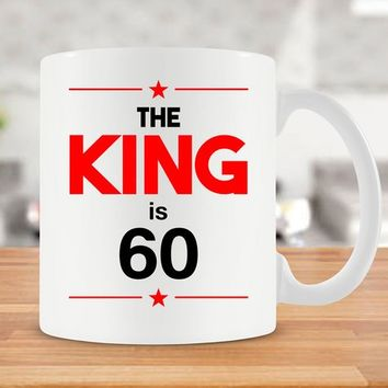 60th Birthday Mug 60th Bday Gift Ideas For Men 60th Birthday Gift 60 Birthday Gift Birthday Coffee Mug Coffee Cup Ceramic Mug - BG245