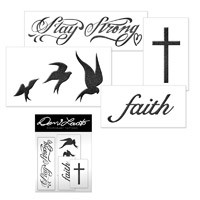 Demi Lovato Official Store | Demi Lovato Temporary Tatoos sheet