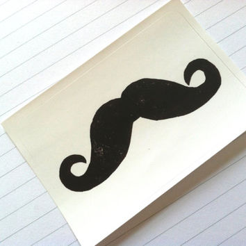 STICKER - Moustache - Mustache - The Stache - Humor