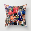 Ed Sheeran Collage Throw Pillow by Fangirling | Society6