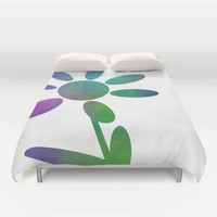 Pretty Petals Duvet Cover by Kathleen Sartoris