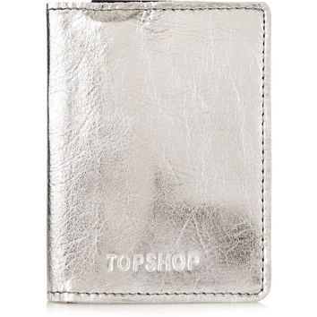 PAWLY Metal Oyster Card Holder | Topshop