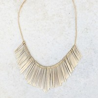 Collar Me Pretty Necklace- Gold - NEW ARRIVALS