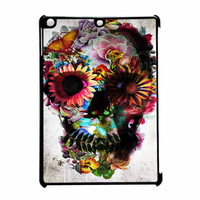 Floral Sugar Skull iPad Air Case