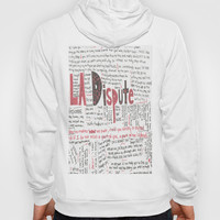La Dispute Lyrics Hoody by Sarah Hinds