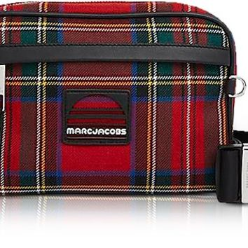 Marc Jacobs Red Tartan Sport Belt Bag