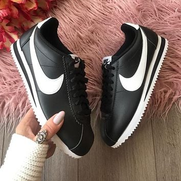 Nike Cortez leather black