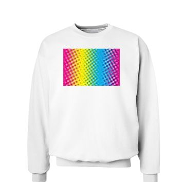 CMY Graphic Rainbow Sweatshirt