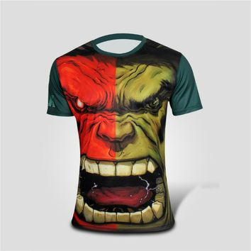Marvel Hulk Super Heroes Short Sleeve T-shirt