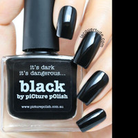 Picture Polish Black Nail Polish