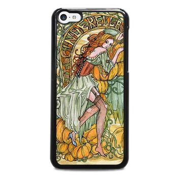 cinderella art disney iphone 5c case cover  number 1