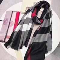 Perfect Burberry Women Silk Scarf Shawl Scarf