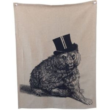Mr. Bear Tea Towel