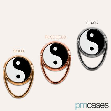 Yin Yang Phone Ring Finger Holder Mount Stand Grips