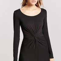 Twist-Front Bodycon Dress