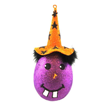 Halloween Witch Head Ornament Halloween Ornament