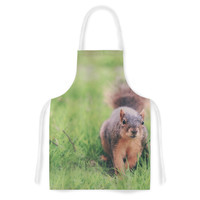 "Angie Turner ""Squirrel"" Brown Animals Artistic Apron"