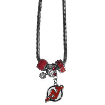 New Jersey Devils® Euro Bead Necklace HBNK50
