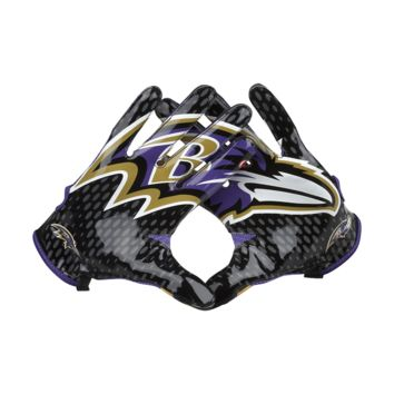Nike Vapor Knit (NFL Ravens) Men's Football Gloves