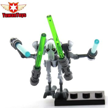 General Grievous Imperial Army Single Sale DIY Blocks Single Sale With Lightsaber Models & Building Blocks Toys For Children