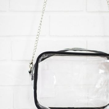 Rectangle Clear Crossbody