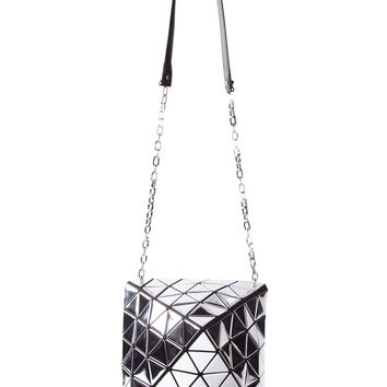 Bao Bao Issey Miyake | Metallic Pyramid Pattered Shoulder Bag