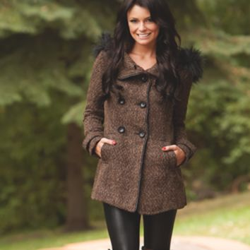 Warm with Elegance Pea Coat