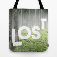 LOST Tote Bag by Cafelab
