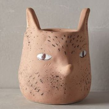 Forest Critter Garden Pot by Sarah Burwash Cedar Fox House & Home