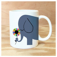 Ellie The Elephant Coffee Mug