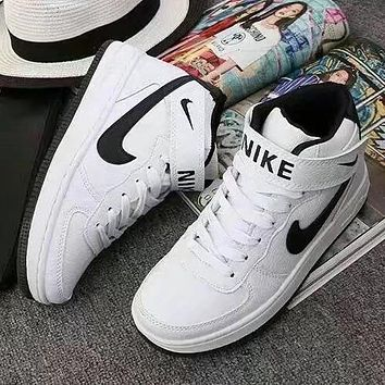 NIKE Woman Men Old Skool Fashion High-Top Sneakers Sport Shoes