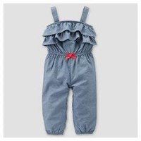 Baby Girls' Chambray Jumper – Just One You™ Made by Carter's®