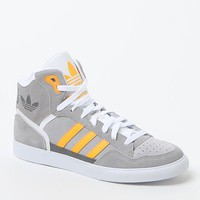 adidas Gray Extaball High-Top Sneakers - Womens Shoes - Gray